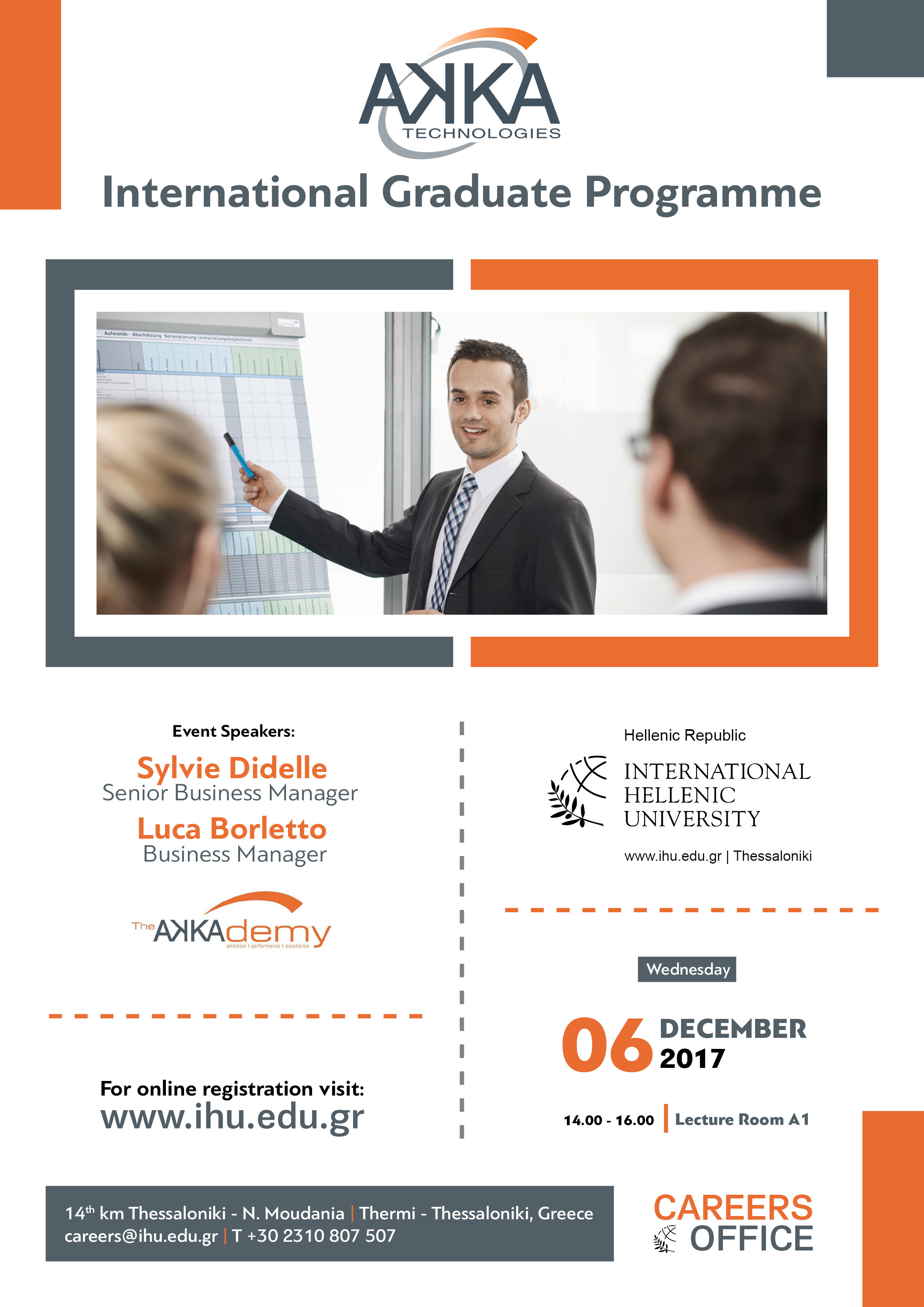 The International Graduate Programme is a month programme; consisting of a 6-week induction and rotational placements throughout the business. At the end of the programme you join a team on a full time basis.
