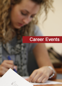 Career Events Section